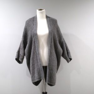 Maurices Open Cardigan Sweater Womens XXL Gray